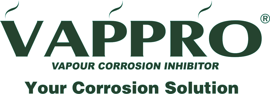 Large dark green Vappro logo