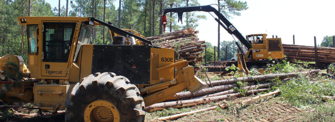 Forestry Equipment using Vappro Products for the Forestry Industry
