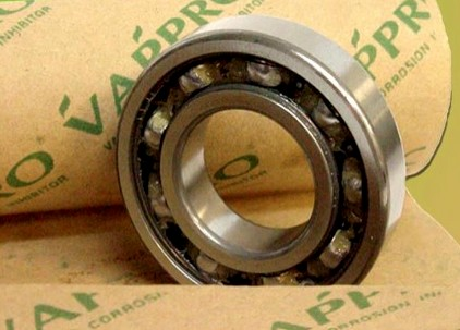 bearing wrapped in vci corrosion prevention kraft paper