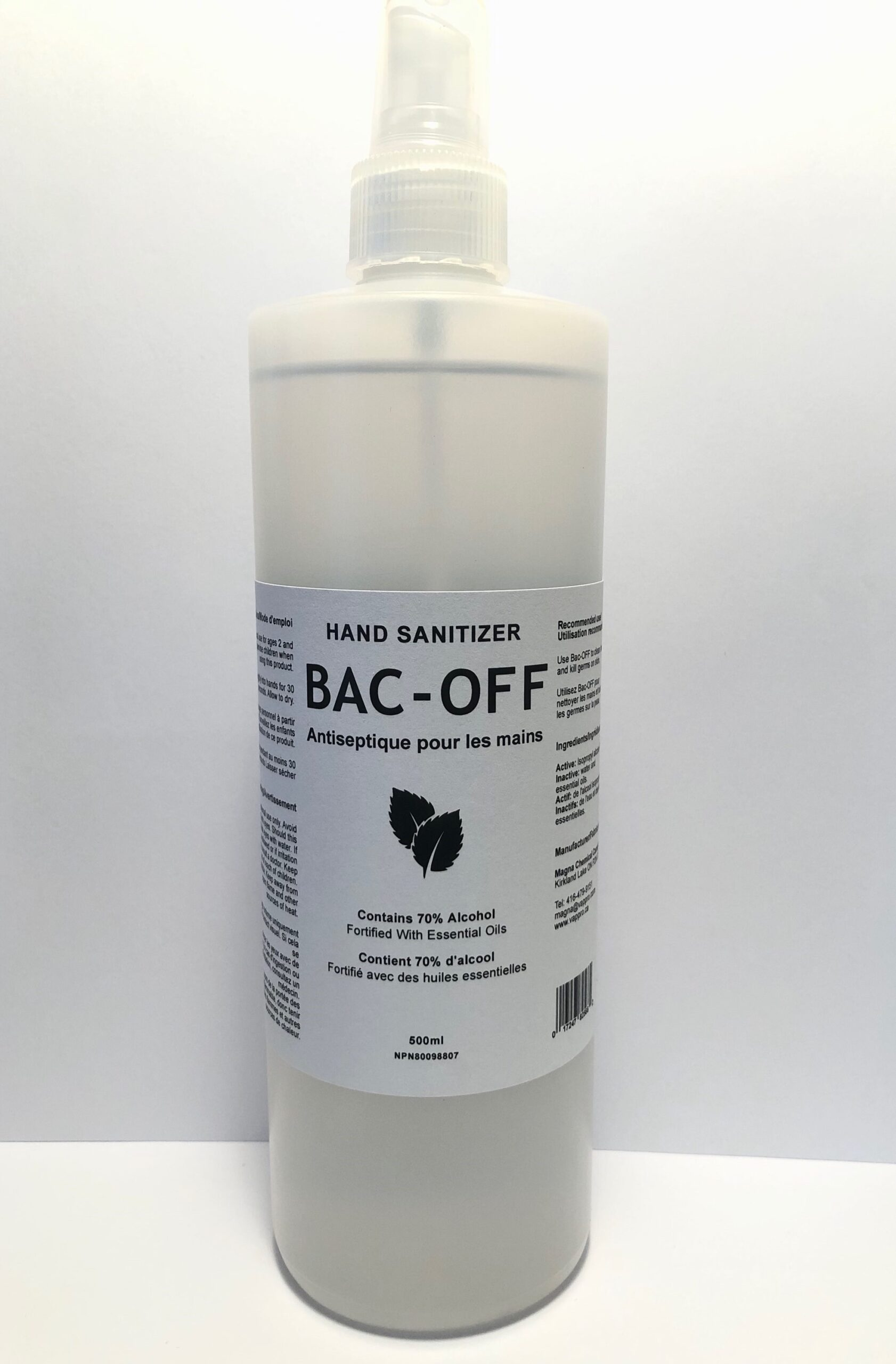 BAC-OFF Black and White Photo