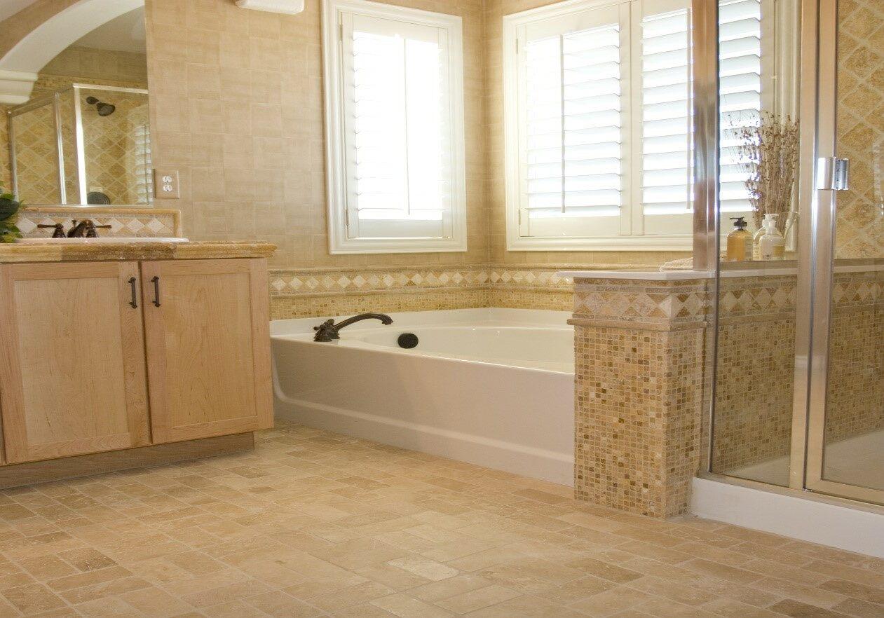 Luxurious residential bathroom