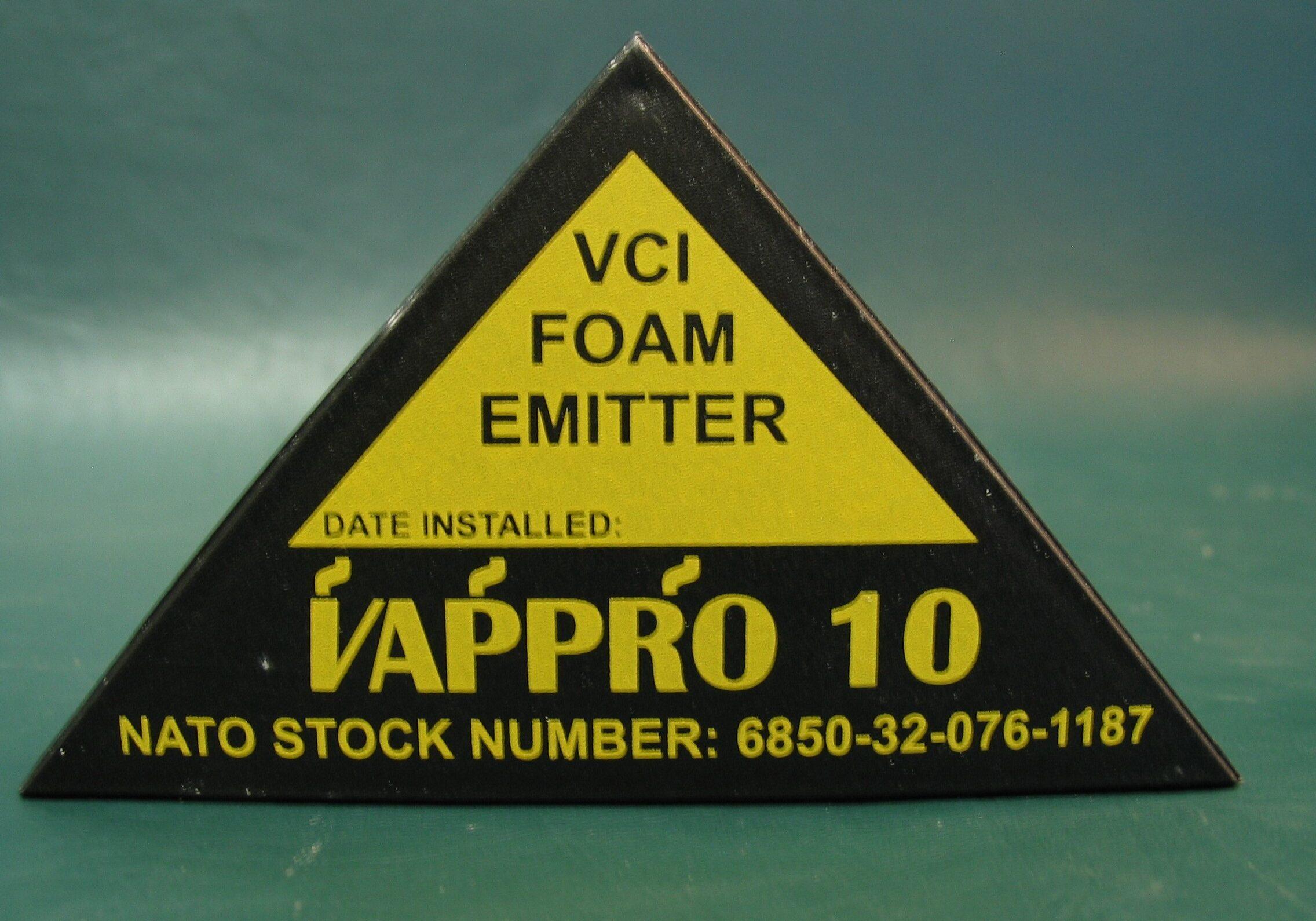 Vappro 10 VCI foam emitter