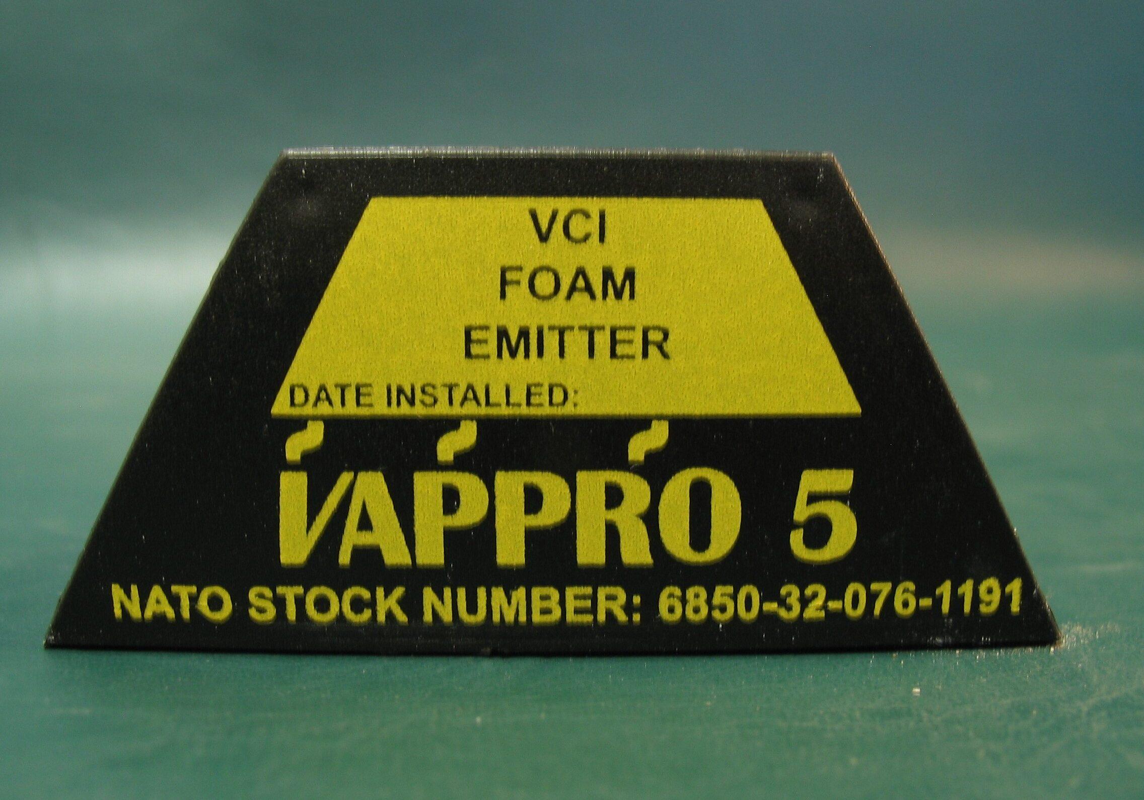Vappro 5 VCI foam emitter