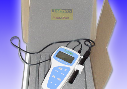 Precision instrument protected in a box with VAPPRO VCI Foam Pad