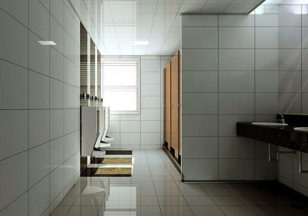 Men's public restroom