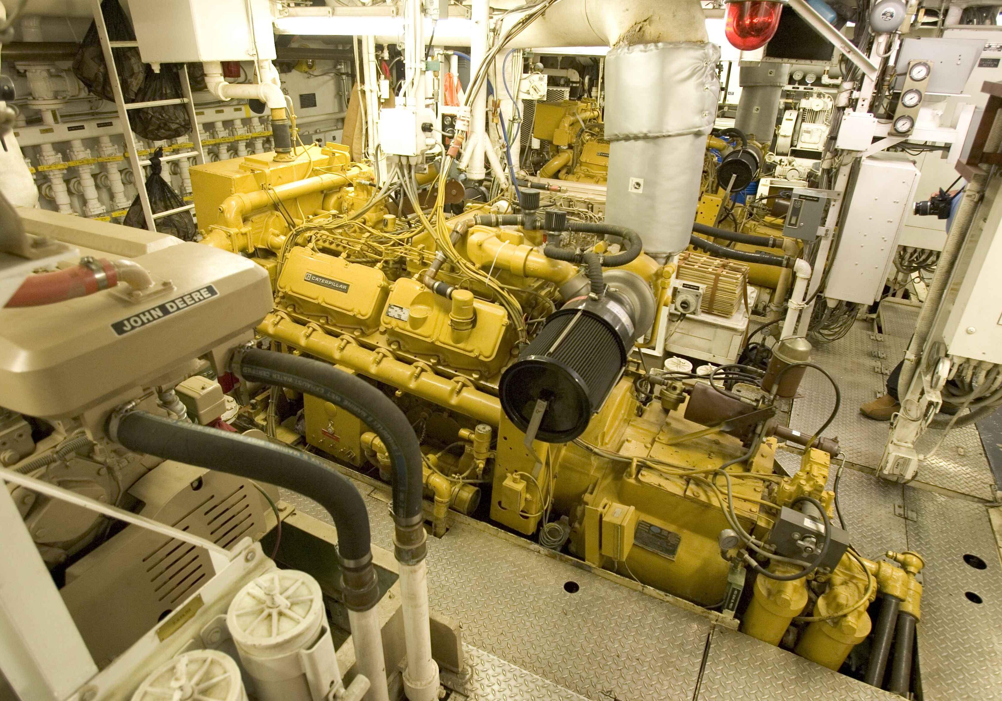 ship engine room